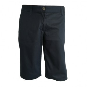 Bermuda Chino Womens Navy_A copy