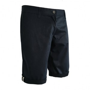 Bermuda Chino Womens Navy_B copy
