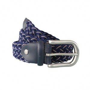 Bicoloured Belt Navy Sand