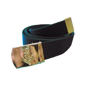 Canvas Navy Belt Black4
