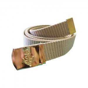 Canvas Navy Belt Khaki3