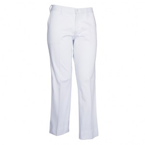 Ladies Trousers White Cotton