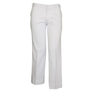 Ladies Trousers White Polyester