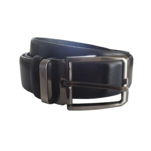 Leather Belt Mens Black
