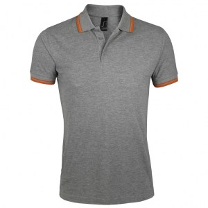 Sols Pasadena Men Grey Melange