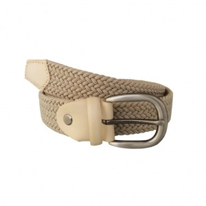 Stretch Belt Beige5