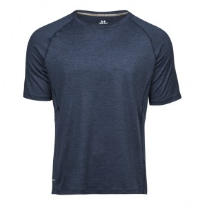 Tee Jays CoolDry Men 7020 Navy Melange copy