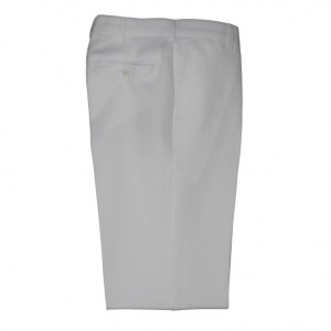 Trousers Men White Cotton