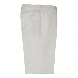Trousers Men White Polyester